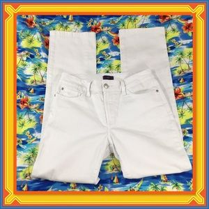NOT YOUR DAUGHTERS JEANS WHITE STRAIGHT LEG 6P